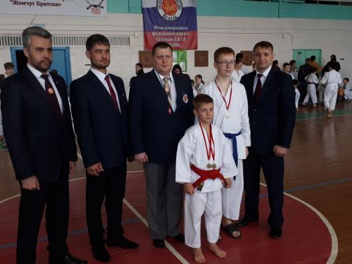 Областной турнир по каратэ S.K.I.F. «Жемчуг Братска» 2018 г